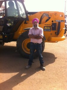 Kulbir Singh - ZoomBoom Forklift at Fort McMurray, AB