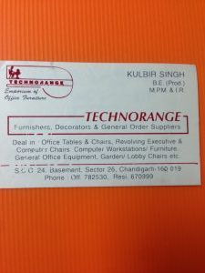 Business Card at TechnoRange