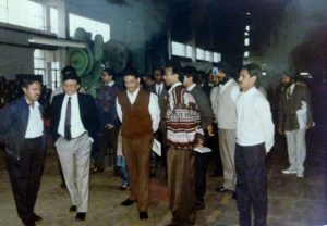 Kulbir Singh (Extreme right) at one of the engineering seminars