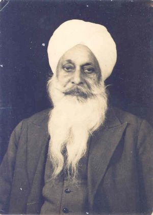Our Great Grandfather Bhayaji S.Hazura Singh ji