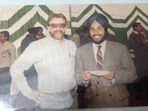 Kulbir Singh at an engineering seminar
