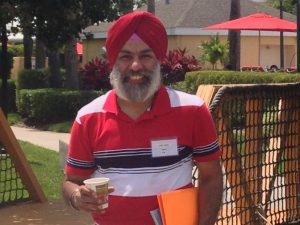 Kulbir Singh at First Steps to Success in Orlando