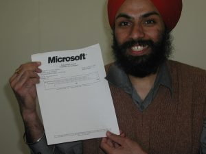 As I achieved my Microsoft certification
