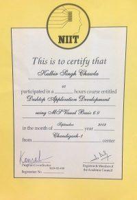 Visual Basic Training Kulbir Singh