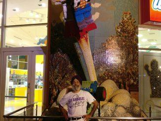 Kulbir Singh at Downtown Disney, Anaheim