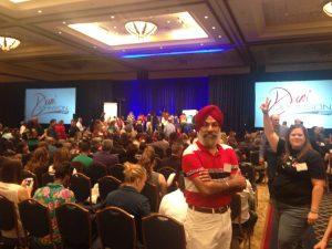 At Dani Johnson's FSTS in Orlando, Florida in May 2015